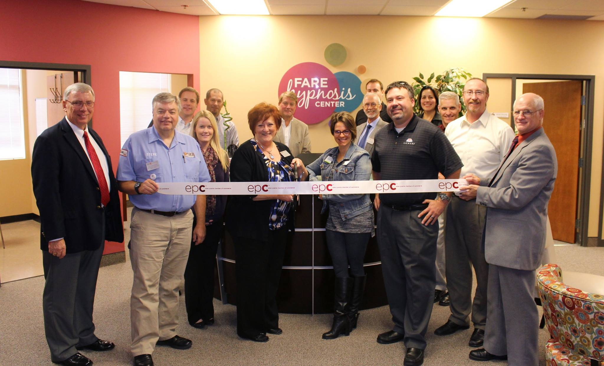 The FARE Hypnosis Center and Eden Prairie Chamber Ribbon Cutting