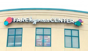 The FARE Hypnosis Center Sign